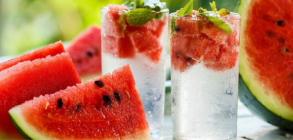watermelon mint fruit infused water recipe water bottle infuser