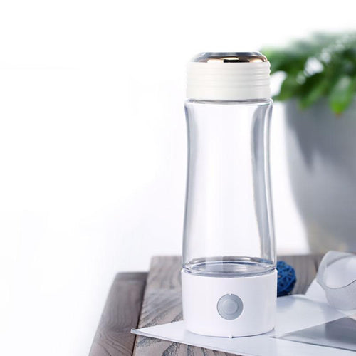 2019 3300ppb SPE/PEM 3rd Gen Korean Titanium SPE | Portable Hydrogen Water Generator Bottle | USB Rechargeable Ionizer-The H2O™ Water Bottles-The H2O™ Water Bottles - Buy Now Order For Sale Best Price Online Shop Purchase Review Amazon Walmart Best Buy Free Shipping