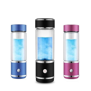 2019 SPE/PEM 3rd Gen Latest Japan Membrane | Portable Hydrogen Water Generator Bottle | USB Rechargeable Ionizer-The H2O™ Water Bottles-The H2O™ Water Bottles - Buy Now Order For Sale Best Price Online Shop Purchase Review Amazon Walmart Best Buy Free Shipping
