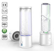 Load image into Gallery viewer, 2020 SPE/PEM High Tech 2nd Gen Portable Hydrogen Water Generator Bottle | USB Rechargeable Ionizer-The H2O™ Water Bottles-The H2O™ Water Bottles - Buy Now Order For Sale Best Price Online Shop Purchase Review Amazon Walmart Best Buy Free Shipping
