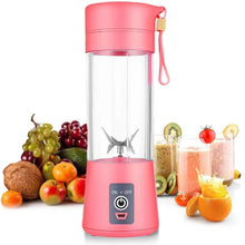 Load image into Gallery viewer, 6 Blades Portable Fruit Blender | Smoothie, Protein Shake, Babyfood Maker | USB Rechargeable 13oz-The H2O™ Water Bottles-The H2O™ Water Bottles - Buy Now Order For Sale Best Price Online Shop Purchase Review Amazon Walmart Best Buy Free Shipping