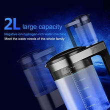 Load image into Gallery viewer, Hydrogen Generator Water Pitcher & Bottle | Alkaline Water Ionizer Machine Large Size 70 oz