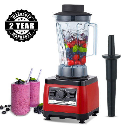 2200W 3HP Heavy Duty Commercial Fruit Vegetable Bar Blender Mixer | High Performance Professional Restaurant Food Processor | Ice Crusher & Smoothie, Shake Maker 2L Large Capacity Countertop High Speed Machine | Best Electric Kitchen Ninja Vitamix Blendtec Blenders Buy Online Commercial Blenders for Sale Price Reviews 2 year warranty