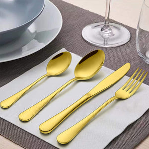 Stainless Steel Flatware Set | 20 Piece