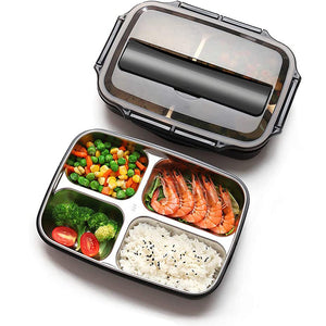 Japanese Style Stainless Steel Insulated Bento Lunch Box & Food Container For Adults & Kids | New-The H2O™ Water Bottles-The H2O™ Water Bottles - Buy Now Order For Sale Best Price Online Shop Purchase Review Amazon Walmart Best Buy Free Shipping