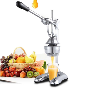Extra Heavy Duty Stainless Steel Hand Press Manual Citrus & Fruit Squeezer - Commercial-The H2O Water Bottles-%100 Pure Stainless Steel-The H2O™ Water Bottles - Buy Now Order For Sale Best Price Online Shop Purchase Review Amazon Walmart Best Buy Free Shipping
