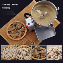 Load image into Gallery viewer, Grain Grinder Mill Stainless Steel Electric High-Speed Powder Machine | Cereals Grain Flour Mill Herb Spice Pepper Coffee Grinder, Pulverizer | Commercial & Home (700G)-The H2O™ Water Bottles-The H2O™ Water Bottles - Buy Now Order For Sale Best Price Online Shop Purchase Review Amazon Walmart Best Buy Free Shipping