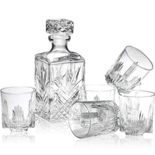 Load image into Gallery viewer, Italian Made 7-Piece Classy Decanter & Whiskey Glasses Set | New-The H2O™ Water Bottles-The H2O™ Water Bottles - Buy Now Order For Sale Best Price Online Shop Purchase Review Amazon Walmart Best Buy Free Shipping