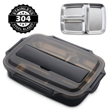 Load image into Gallery viewer, Japanese Style Stainless Steel Insulated Bento Lunch Box & Food Container For Adults & Kids | New-The H2O™ Water Bottles-The H2O™ Water Bottles - Buy Now Order For Sale Best Price Online Shop Purchase Review Amazon Walmart Best Buy Free Shipping