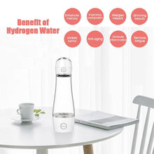 Load image into Gallery viewer, Portable Alkaline Hydrogen Water Generator Machine & Bottle | 1st Gen USB Rechargeable Ionizer 10 oz-The H2O™ Water Bottles-The H2O™ Water Bottles - Buy Now Order For Sale Best Price Online Shop Purchase Review Amazon Walmart Best Buy Free Shipping