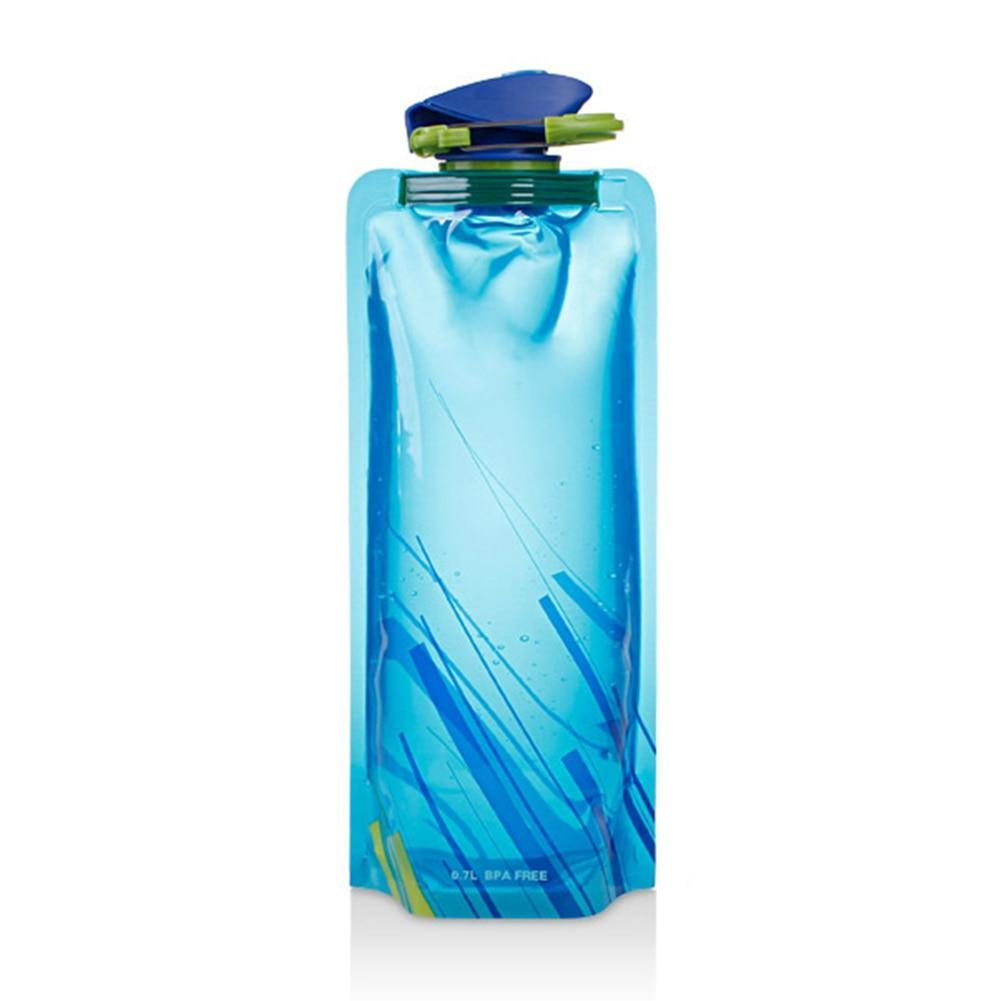 Portable, Collapsible, Foldable Water Bottle & Bag for Travel, Outdoor and Hiking-The H2O Water Bottles-Blue-The H2O™ Water Bottles - Buy Now Order For Sale Best Price Online Shop Purchase Review Amazon Walmart Best Buy Free Shipping