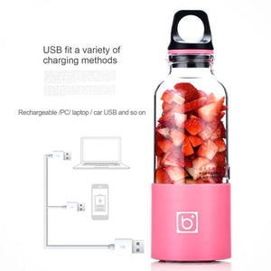 Portable USB Rechargeable Personal Fruit Blender & Smoothie, Protein Shake Maker | Large Size 17 oz-The H2O™ Water Bottles-The H2O™ Water Bottles - Buy Now Order For Sale Best Price Online Shop Purchase Review Amazon Walmart Best Buy Free Shipping