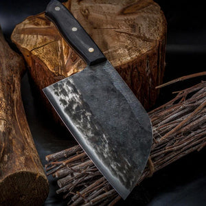 "Handmade Forged Ultra Sharp High Carbon Clad Steel Butcher Cleaver Knife | Commercial & Home | Best Custom Hand Made Manual Forged Butcher Knife | Cleaver Knife | Buy Japan Professional Cleaver Butcher Knife Online 7 inch 8"" 7"" 9"" 