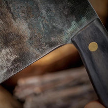 "Load image into Gallery viewer, Handmade Forged Ultra Sharp High Carbon Clad Steel Butcher Cleaver Knife | Commercial & Home | Best Custom Hand Made Manual Forged Butcher Knife | Cleaver Knife | Buy Japan Professional Cleaver Butcher Knife Online 7 inch 8"" 7"" 9"" 