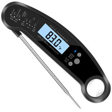Load image into Gallery viewer, Heavy Duty Commercial Grade Meat Thermometer, Instant Read Thermometer Digital Cooking Thermometer with LCD Screen Reader, Best Waterproof Food Thermometer for Kitchen, Restaurants, Bar, Cooking, Steak, Deep Fry, Smoker, BBQ Grill and Soup (Red) Steak Thermometer Celsius Fahrenheit Buy Online 5 Stars Reviews Fast Ship...