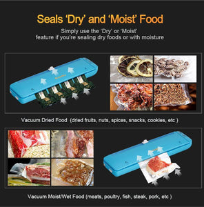 Professional Electric Vacuum Sealer with Built-in Cutter | Food Packing Machine with 10 Cooking Bags-The H2O™ Water Bottles-The H2O™ Water Bottles - Buy Now Order For Sale Best Price Online Shop Purchase Review Amazon Walmart Best Buy Free Shipping