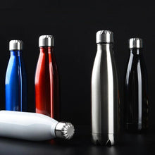 Load image into Gallery viewer, Stainless Steel Double-Wall Vacuum Insulated Thermos Water Bottle 17 oz-The H2O™ Water Bottles-The H2O™ Water Bottles - Buy Now Order For Sale Best Price Online Shop Purchase Review Amazon Walmart Best Buy Free Shipping