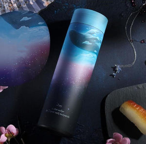 The H2O™ Fantasy Series | Stainless Steel Vacuum Insulated Coffee and Tea Mug with Filter 16 oz-The H2O™ Water Bottles-Deep Space-The H2O™ Water Bottles - Buy Now Order For Sale Best Price Online Shop Purchase Review Amazon Walmart Best Buy Free Shipping