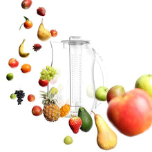 "Load image into Gallery viewer, The H2O™ Unbreakable Fruit Infuser Water Pitcher 2.9 Quartz-The H2O Water Bottles-10""-The H2O™ Water Bottles - Buy Now Order For Sale Best Price Online Shop Purchase Review Amazon Walmart Best Buy Free Shipping"