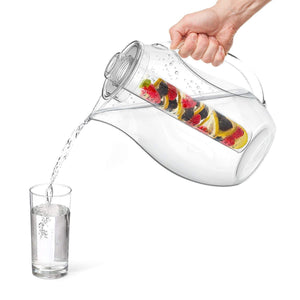 The H2O™ Unbreakable Fruit Infuser Water Pitcher 2.9 Quartz-The H2O Water Bottles-10