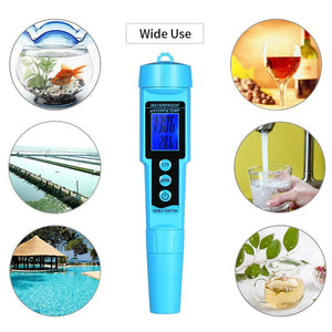 Water Quality Tester, Professional 3 in 1 pH/ORP/TEMP Meter | Digital Multi-Function Quality Monitor-The H2O™ Water Bottles-The H2O™ Water Bottles - Buy Now Order For Sale Best Price Online Shop Purchase Review Amazon Walmart Best Buy Free Shipping