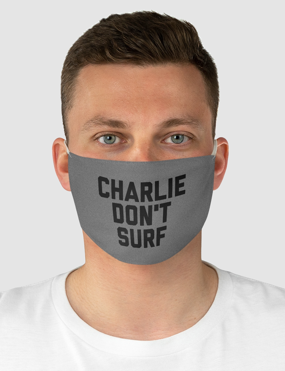 Charlie Don't Surf | Fabric Face Mask