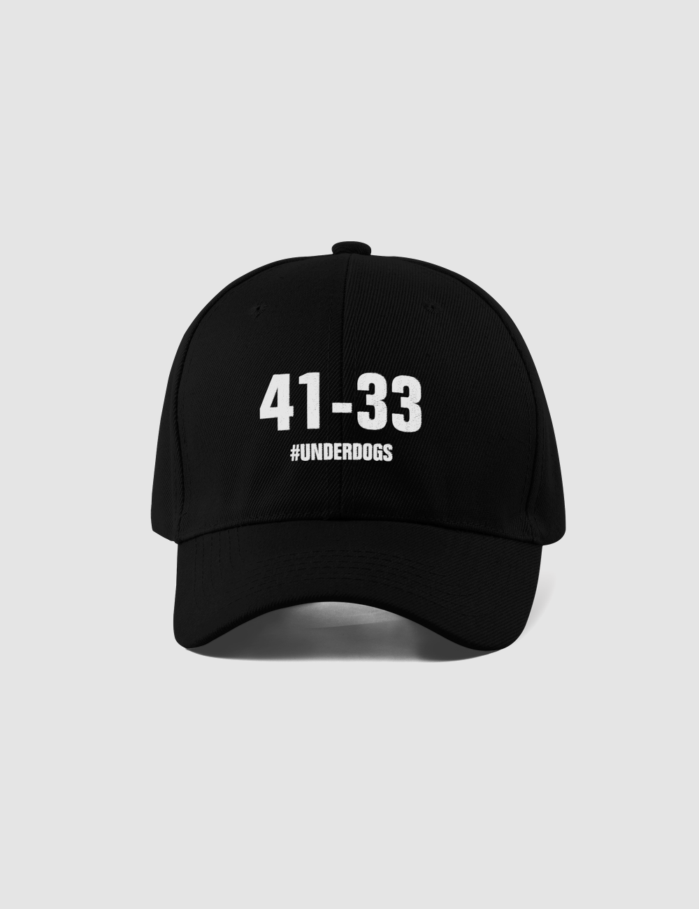 41 To 33 Underdogs | Closed Back Flexfit Hat