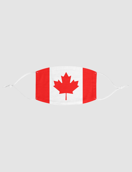 Canadian Flag | Fabric Face Mask