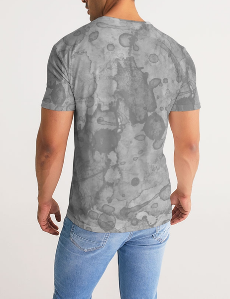 Abstract Stone Water Color Print | Men's Sublimated T-Shirt