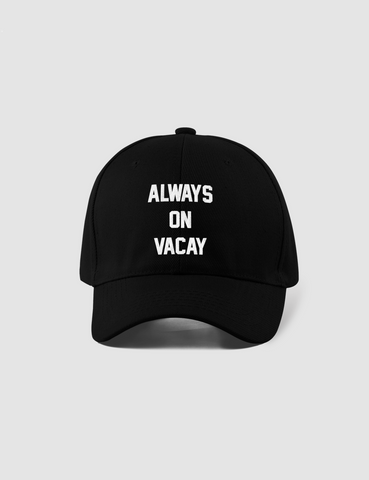 Always On Vacay | Closed Back Flexfit Hat