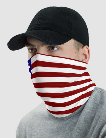 American Flag | Neck Gaiter Face Mask