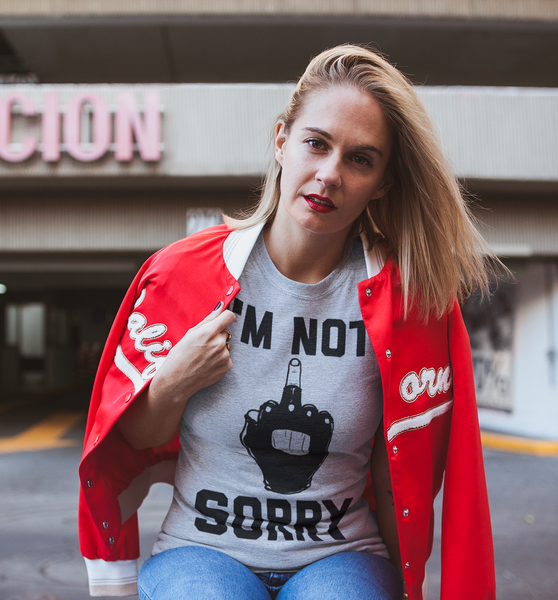 I'm Not Sorry T-Shirt - OniTakai