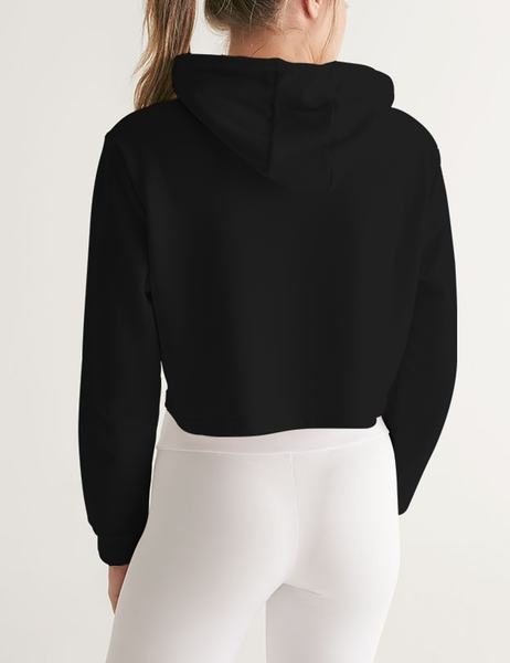 Punch Covid-19 In The Dick | Women's Premium Cropped Hoodie