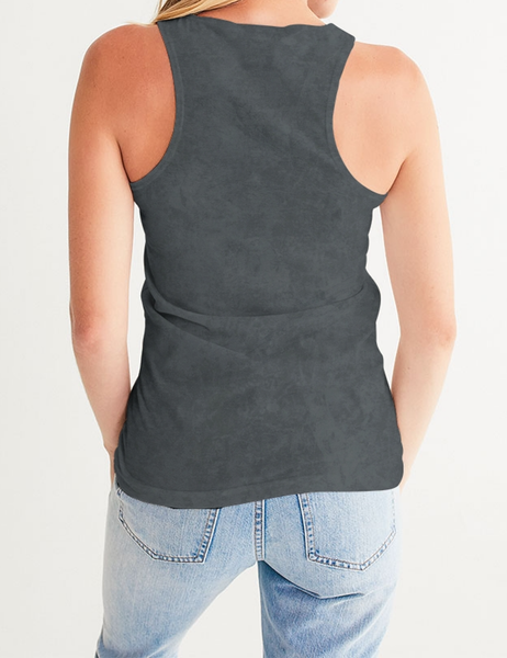 Dark Grunge Matte | Women's Fitted Sublimated Tank Top