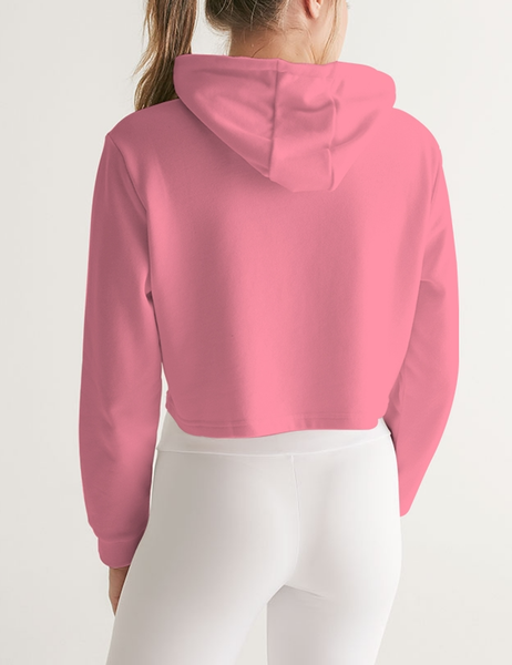 I'm Too Cute For My Life To Be This Way | Women's Sublimated Cropped Hoodie
