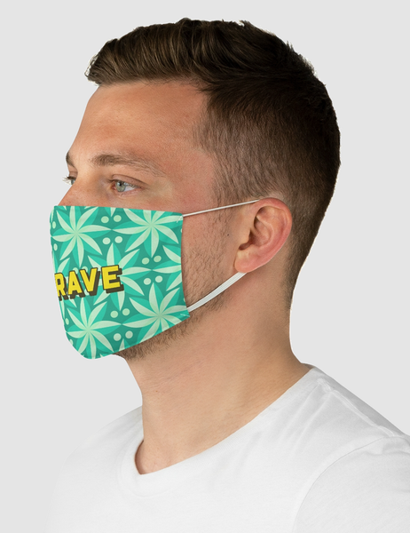 Be Brave | Fabric Face Mask