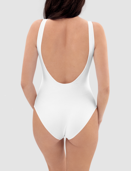 Beach Vibes | Women's One-Piece Swimsuit
