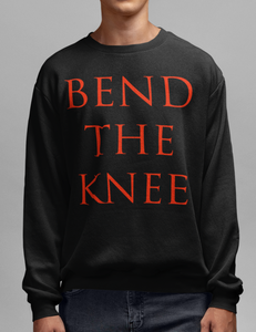 Bend The Knee Crewneck Sweatshirt - OniTakai