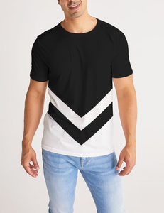 Black And White Delta | Men's Sublimated T-Shirt