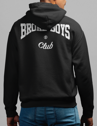 Broke Boys Club Back Print Hoodie - OniTakai