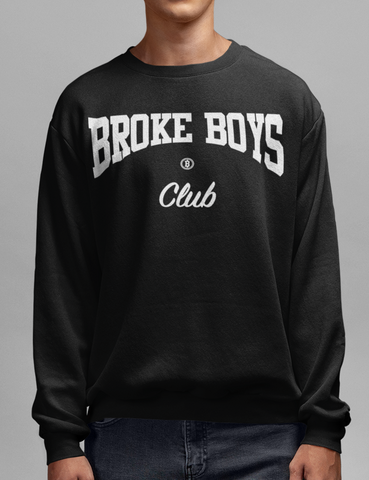 Broke Boys Club Crewneck Sweatshirt - OniTakai