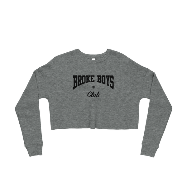 Broke Boys Club Crop Sweatshirt - OniTakai