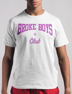 Broke Boys Club Purple Logo Tee - OniTakai