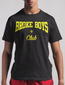 Broke Boys Club Yellow Logo Tee - OniTakai