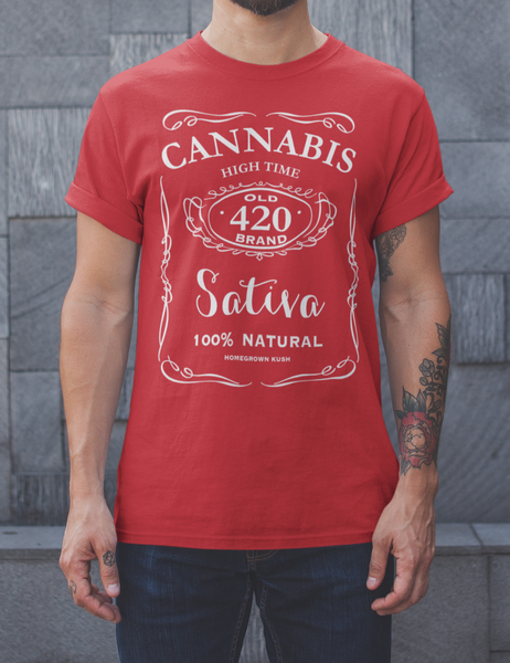Cannabis 420 Whiskey Style | T-Shirt