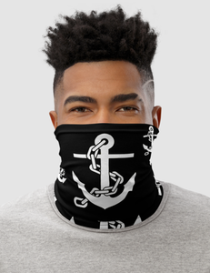 Chained Sea Anchors | Neck Gaiter Face Mask