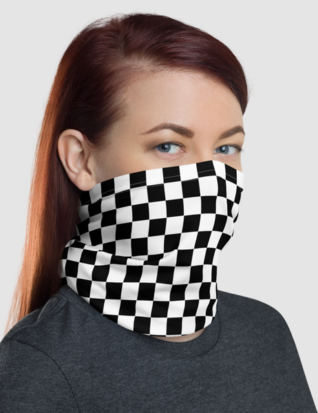 Checkered Classic | Neck Gaiter Face Mask