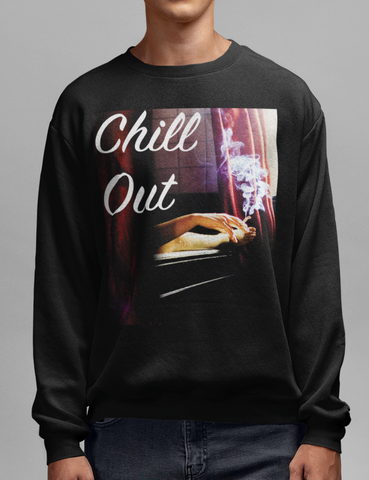 Chill Out Crewneck Sweatshirt - OniTakai