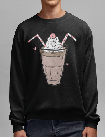 Chocolate Sundae | Crewneck Sweatshirt