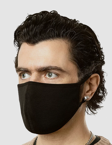 Classic Black | Men's Standard Face Mask